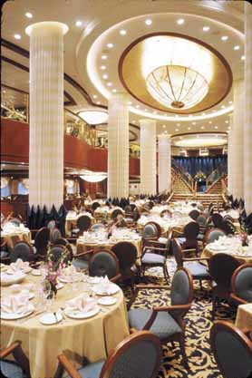 Radiance of seas for Balcony restaurant group